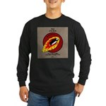 KNOTS Retro Patrol Patch Long Sleeve Dark T-Shirt