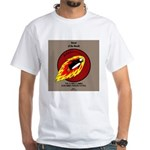 KNOTS Retro Patrol Patch White T-Shirt