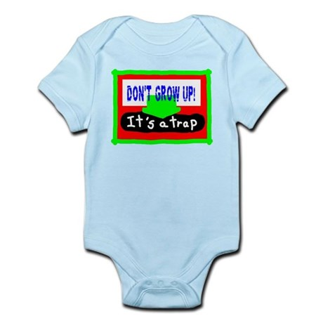Kids/Dont Grow Up/t-shirt Infant Bodysuit