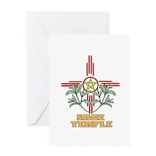 Sage Temple Greeting Card