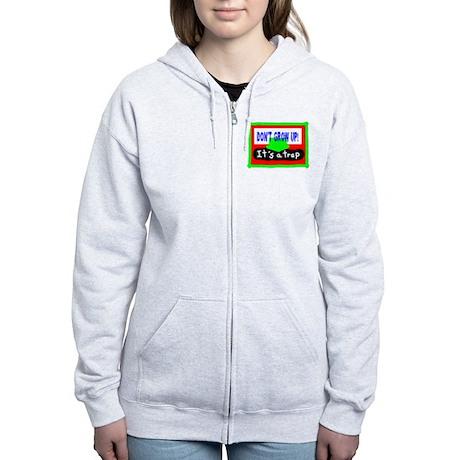 Dont Grow Up/t-shirt Women's Zip Hoodie