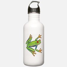 Green Frog Water Bottle