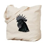 Ayam Ceymani Rooster Tote Bag