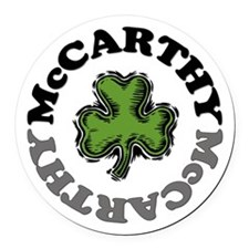 McCarthy Round Car Magnet