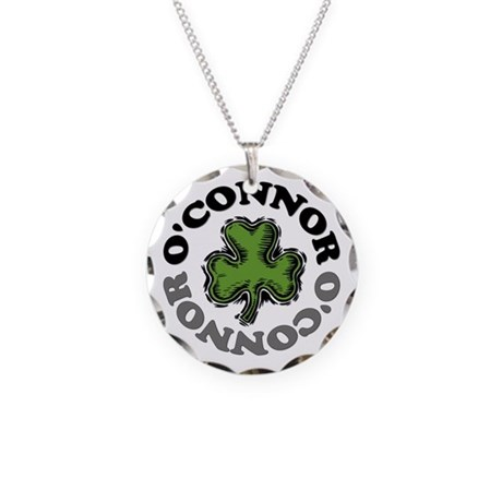 O'Connor Necklace Circle Charm