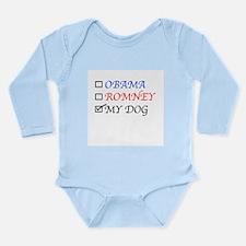 Ballot Sheet T-Shirt Long Sleeve Infant Bodysuit