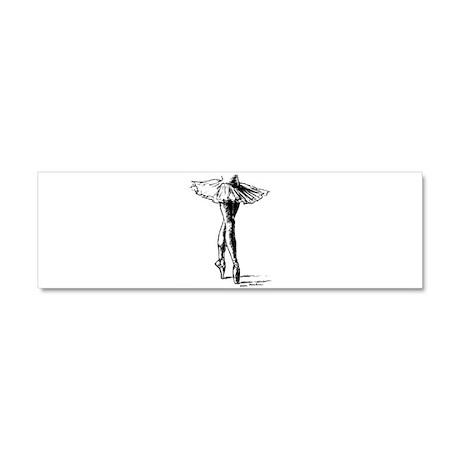 Ballet Car Magnet 10 x 3