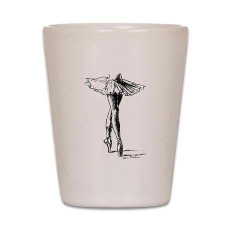 Ballet Shot Glass