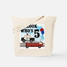Everyday Heroes 5th Birthday Tote Bag