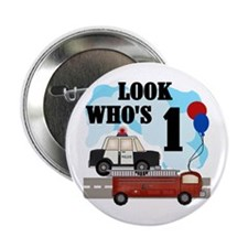 Everyday Heroes 1st Birthday Button