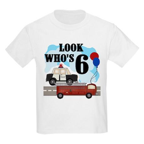 Everyday Heroes 6th Birthday Kids T-Shirt