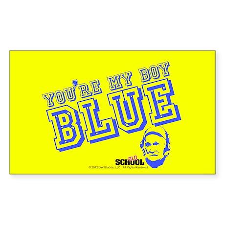 Blue Sticker (Rectangle)