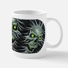 Green-Eyed Skulls Mug