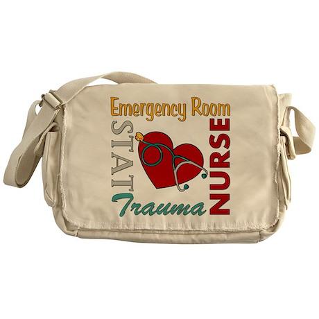 ER Nurse Messenger Bag