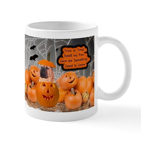Halloween -RecMag -SharPei Mugs