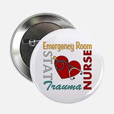 """ER Nurse 2.25"""" Button"""