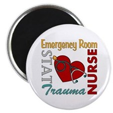 "ER Nurse 2.25"" Magnet (100 pack)"