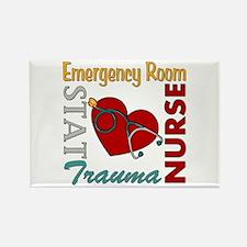 ER Nurse Rectangle Magnet