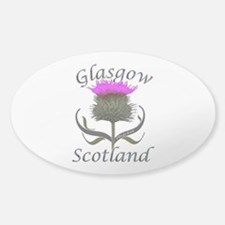 Glasgow Scotland Thistle Decal