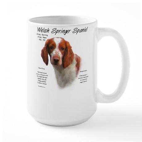 Welsh Springer Spaniel Large Mug
