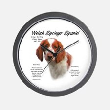 Welsh Springer Spaniel Wall Clock