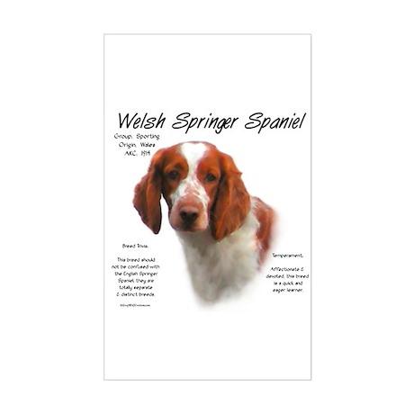 Welsh Springer Spaniel Rectangle Sticker