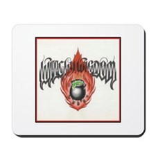 Witchy Wisdom Logo Mousepad