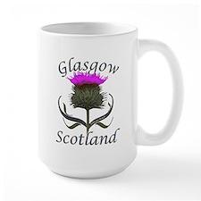Glasgow Scotland Thistle Mug
