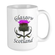 Glasgow Scotland Thistle Mug