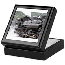 Steam engine: Colorado 3 Keepsake Box