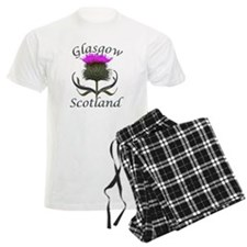 Glasgow Scotland Thistle Pajamas