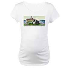 Two Newfs Seascape Shirt