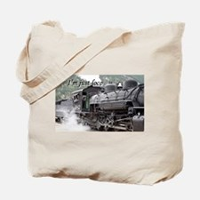 I'm just loco: steam engine, Colorado 3 Tote Bag