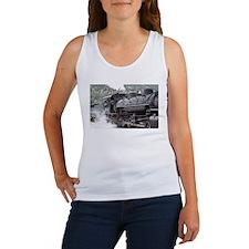I'm just loco: steam engine, Colorado 3 Women's Ta