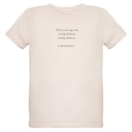 bible verse 2 sam. 22:2 Organic Kids T-Shirt