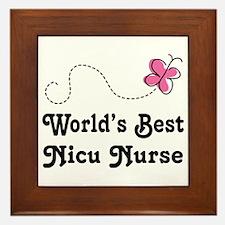 NICU Nurse (Worlds Best) Framed Tile