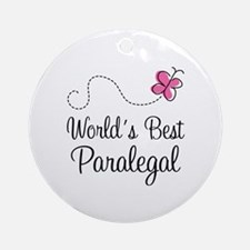 Paralegal (World's Best) Ornament (Round)