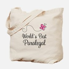 Paralegal (World's Best) Tote Bag