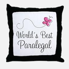 Paralegal (World's Best) Throw Pillow