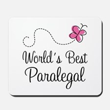 Paralegal (World's Best) Mousepad