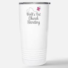 Church Secretary Gift Travel Mug