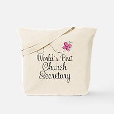 Church Secretary Gift Tote Bag