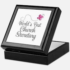 Church Secretary Gift Keepsake Box