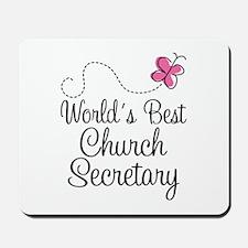 Church Secretary Gift Mousepad