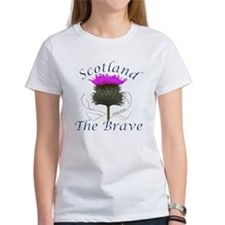 Scotland The Brave Thistle Tee