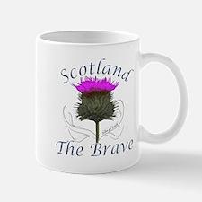 Scotland The Brave Thistle Mug