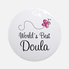 Doula (Worlds Best) Ornament (Round)