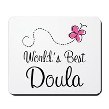Doula (Worlds Best) Mousepad