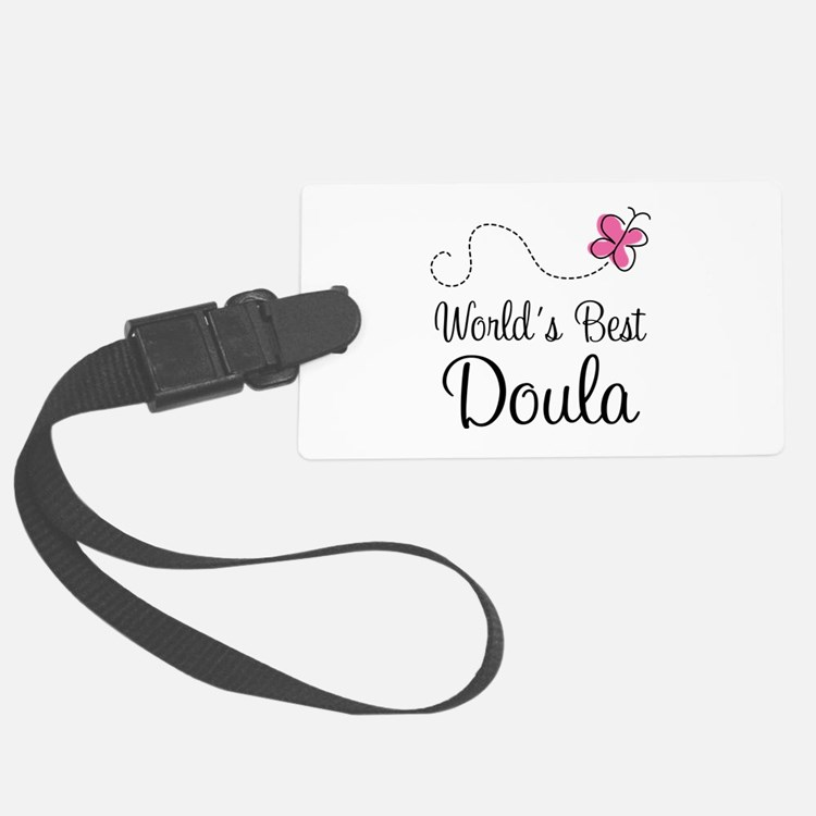 Doula (Worlds Best) Luggage Tag