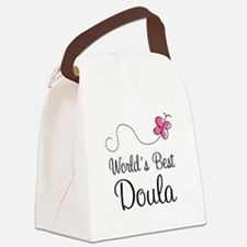 Doula (Worlds Best) Canvas Lunch Bag